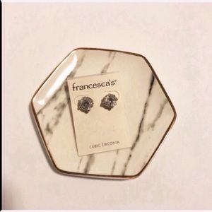 New with tags Francescas bling stud earrings L